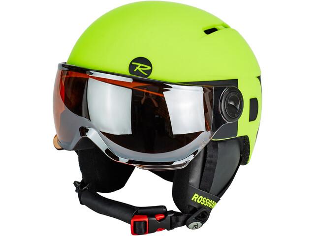 Rossignol Visor Helmet Barn neon yellow/black
